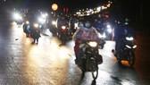 Đồng Nai hộ tống hơn 900 công nhân đi xe máy về Đắk Lắk