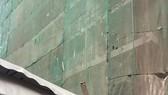 Công trình TMS Luxury Hotel Đà Nẵng thi công ẩu gây nguy hiểm cho người dân