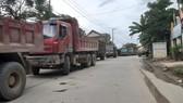 Người dân Đà Nẵng chặn xe để phản đối việc gây ô nhiễm