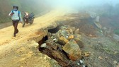 Đoạn tuyến xuyên rừng gần 750 tỷ đồng bể tan nát