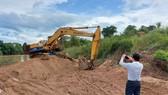 Khai thác cát lậu ở Ia Mơ, bị xử phạt 125 triệu đồng