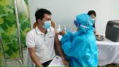 Tiêm vaccine ngừa Covid-19 ở Bệnh viện Đa khoa tỉnh Gia Lai