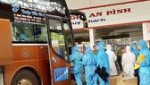 22 phụ nữ mang thai và 2 trẻ em về đến Gia Lai lúc 0 giờ 45 ngày 31-8