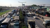 Auxiliary constructions, railroads to relieve traffic jams on highway