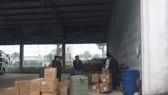 Tạm giữ 137 kiện hàng hóa có xuất xứ Trung Quốc