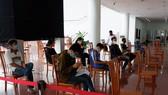 Khu vực chờ tại Bộ phận Tiếp nhận và trả kết quả tập trung tại Trung tâm Hành chính TP Đà Nẵng