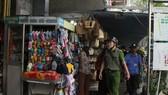 Các đơn vị tăng cường kiểm tra tại khu vực chợ trên địa bàn quận Hải Châu, TP Đà Nẵng