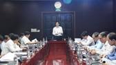 Ông Lê Trung Chinh, Phó Chủ tịch UBND TP Đà Nẵng phát biểu tại hội thảo