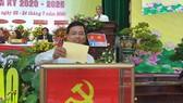 Quận ủy Hải Châu phải tiếp tục kế thừa, giữ gìn và phát huy truyền thống, tập trung xây dựng Đảng bộ quận thật sự trong sạch, vững mạnh từ cơ sở