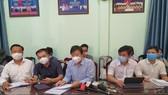 Đoàn công tác của Bộ Y tế đến và làm việc tại UBND phường Hòa Khánh Bắc