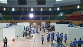 Đà Nẵng khẩn trương hoàn thành Bệnh viện dã chiến tại Cung thể thao Tiên Sơn