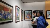 Triển lãm đem đến cho người xem những tác phẩm có giá trị nghệ thuật cao