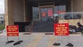 Đoàn kiểm tra thực tế việc cách ly tập trung tại khách sạn Alisa (số 19 Hoàng Sa, quận Sơn Trà, TP Đà Nẵng)