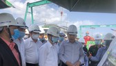 TP Đà Nẵng luôn quan tâm và tạo điều kiện thuận lợi để thi công công trình Cải tạo cụm nút giao thông phía Tây cầu Trần Thị Lý