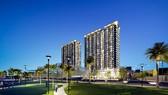 Phối cảnh dự án tái thiết đô thị Bình Hiên