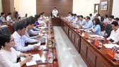 Ngày 13-4, Ủy ban bầu cử TP Đà Nẵng đã họp triển khai công tác bầu cử đại biểu Quốc hội khóa XV và đại biểu HĐND các cấp nhiệm kỳ 2021-2026
