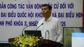 Phó Chủ tịch Thường trực UBND TP Đà Nẵng Hồ Kỳ Minh phát biểu