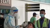 Xét nghiệm hơn 2.000 người tại Cảng Hàng không quốc tế Đà Nẵng