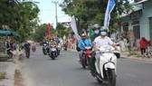 Tiếng loa tuyên truyền ở các ngõ, hẻm trên địa bàn quận Ngũ Hành Sơn (TP Đà Nẵng)