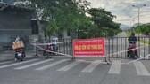 Chốt kiểm soát phòng, chống dịch tại phường An Hải Bắc