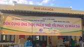 Điểm cung ứng nhu yếu phẩm phục vụ người dân tại quận Liên Chiểu (TP Đà Nẵng)