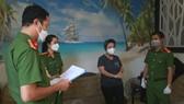 Đọc lệnh bắt tạm giam đối với Trần Thị Phương Dung