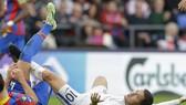 Hazard mất hút trong trận thua của Chelsea. Ảnh: Getty Images