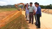 Khắc phục xong phần sạt lở tại mái kênh dự án theo quy trình hướng dẫn của Cục Quản lý xây dựng công trình và các nhà tư vấn
