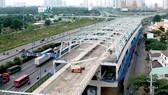 Nhà ga metro Bến Thành - Suối Tiên kết nối với xe buýt, tạo thuận lợi cho hành khách. Ảnh: THÀNH TRÍ