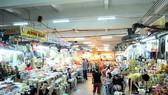 Chợ truyền thống được cải tạo khang trang hơn