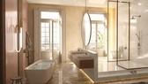 Check-in sang chảnh tại phòng tắm thiết kế tựa resort cao cấp ở châu Âu