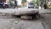 Hoang mang vì lòng đất phát nổ