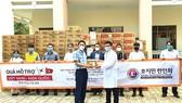 Hội Hàn kiều tại TPHCM thăm và tặng quà bệnh viện dã chiến Củ Chi