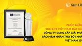 Sun Life Việt Nam - Công ty cung cấp giải pháp bảo hiểm nhân thọ tốt nhất Việt Nam 2019