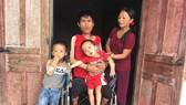 Gia đình anh Trần Văn Sơn rất khó khăn