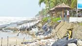 Khoảng 40 tỷ đồng chống xói lở khẩn cấp và bảo vệ bờ biển xã đảo Tam Hải