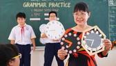 Cô Nguyễn Thị Sương Anh, giáo viên Trường THCS Đào Duy Anh, quận Phú Nhuận. Ảnh: HOÀNG HÙNG