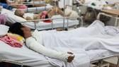 Khu điều trị bỏng tại Bệnh viện Chợ Rẫy, TPHCM. Ảnh: HOÀNG HÙNG