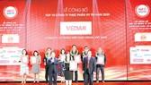Vedan Việt Nam tiếp tục được vinh danh Tốp 10: Công ty uy tín ngành Thực phẩm - Đồ uống năm 2020