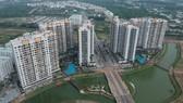 Dự án bất động sản Mizuki Park tại huyện Bình Chánh, TPHCM. Ảnh: CAO THĂNG