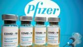 Vaccine phòng Covid-19 của hãng dược phẩm Pfizer. Ảnh: REUTERS
