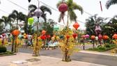 """Hình ảnh những chiếc lồng đèn như một """"Hội An thu nhỏ"""" giữa Sài Gòn"""