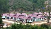 Nóc ông Đề, xã Trà Leng, được dời về  làng Bằng La, xã Trà Dơn
