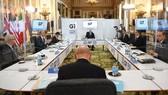 Ngoại trưởng các nước G7 tham dự Hội nghị trực tiếp đầu tiên sau 2 năm. Ảnh: PA