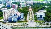 Một góc Công viên phần mềm Quang Trung