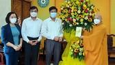 Phó Ban Dân vận Trung ương thăm, chúc mừng Đại lễ Phật đản