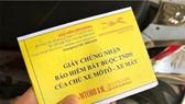 Không cần xuất trình bảo hiểm trách nhiệm dân sự chủ xe cơ giới khi đi đăng kiểm