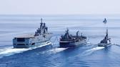 Tàu hải quân Australia và Pháp phối hợp tuần tra trên Biển Đông tháng 4-2021