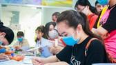 Thí sinh đăng ký xét tuyển bằng điểm học bạ THPT vào Trường ĐH Công nghiệp Thực phẩm TPHCM trong tháng 3-2021