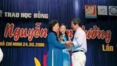 Quỹ học bổng Nguyễn Văn Hưởng đã có 229 triệu đồng